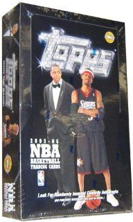 2005/06 Topps Basketball Jumbo HOBBY Box   12P35C Toys & Games
