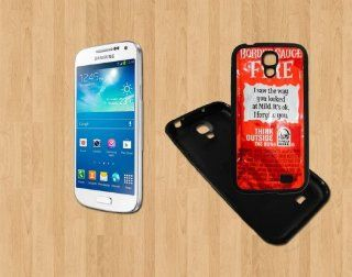 NEW TACO BELL SAUCE FIRE MSH Samsung Galaxy S4 BLACK Rubber Case ( Ship From CA ) Cell Phones & Accessories