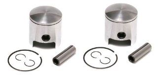 SPI, 09 802N, 2 Piston Kits Yamaha Excel, Enticer & Ovation 340 Standard Bore 60mm Automotive
