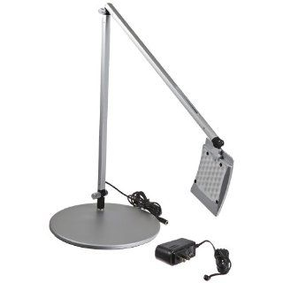Koncept AR2000 C SIL DSK Mosso LED Desk Lamp, Cool Light, Silver