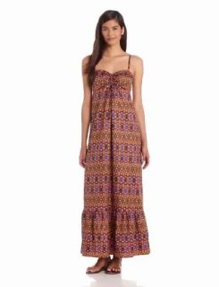 Anne Klein Women's Paisley Print Maxi Dress