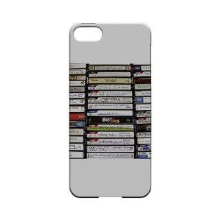 [Geeks Designer Line] VHS Apple iPhone 5 Plastic Case Cover [Anti Slip] Supports Premium High Definition Anti Scratch Screen Protector; Durable Fashion Snap on Hard Case; Coolest Ultra Slim Case Cover for iPhone 5 Supports Apple 5 Devices From Verizon, AT&