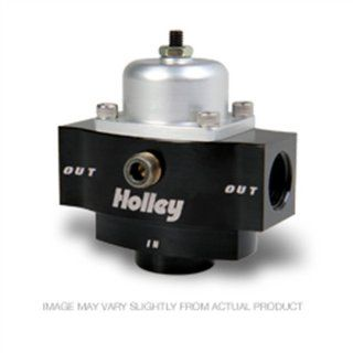 "Holley 12 840 4.5 9 PSI Adjustable Billet Fuel Pressure Regulator with 3/8"" NTP Ports Automotive"