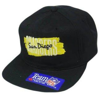 HAT CAP SNAPBACK VINTAGE SAN DIEGO CHARGERS NEW ERA FLAT BILL DEADSTOCK OLD NFL  Sports Fan Baseball Caps  Sports & Outdoors