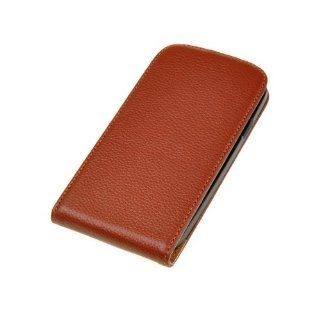 Neewer 	 Brown Flip Faux Leather Case Cover For Samsung SIII i9300 S3 Cell Phones & Accessories