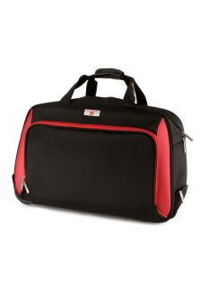 Swiss Legend 13  Handbags & Shoes,Black & Red Wheeled Duffle Bag, Handbags Swiss Legend Travel & Luggage Handbags & Shoes