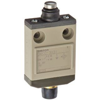 Omron D4CC 3031 Miniature Limit Switch, Sealed Pin Plunger, 1A at 30VDC Rated Current Electronic Component Limit Switches