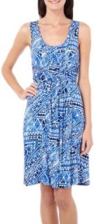 Spense Womens Aztec Print Sleeveless Dress