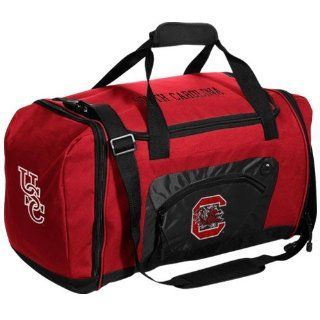 NCAA South Carolina Gamecocks Roadblock Duffel Bag   Garnet/Black