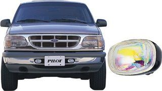 Pilot Performance Lighting   PL 117C Pilot 95   98 Ford Explorer Custom Driving Light Kit, Clear Automotive
