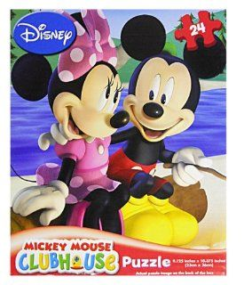 Mickey Mouse Clubhouse 24 Piece Puzzle Assorted Styles Toys & Games