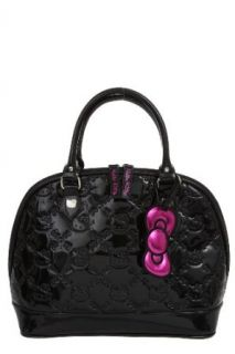 Hello Kitty Black Embossed Dome Bag Clothing