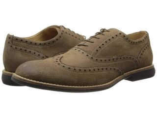 Kenneth Cole Reaction Why I Oughta Mens Lace Up Wing Tip Shoes (Taupe)