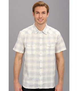 Lucky Brand Summer Western Shirt Mens T Shirt (Blue)