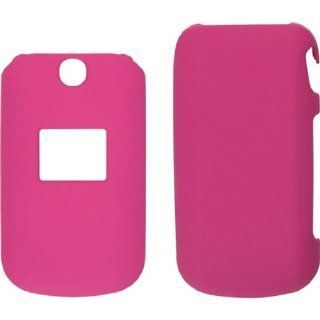 Ventev Soft Touch Cases for LG AN160/UN160   Retail Packaging   Pink Cell Phones & Accessories