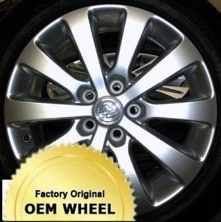 Buick  Verano  17  5 115  10 Spoke  Factory Oem Wheel Rim   Silver Finish   Remanufactured Automotive