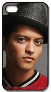 iphone 4/4s hard case fitted case cover with singer Bruno Mars logo (PC material) by cutomizedonline Cell Phones & Accessories