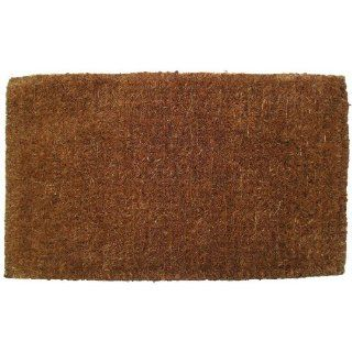 Entryways Blank Hand Woven Extra Thick Coir Doormat, 18 by 30 Inch  Indoor Door Mats For Home  Patio, Lawn & Garden