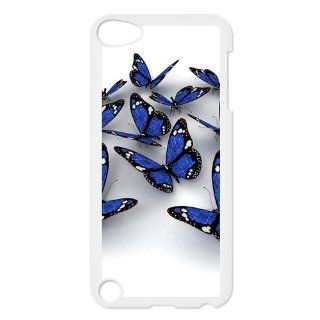Custom Butterfly Back Cover Case for iPod Touch 5th Generation LLIP5 928 Cell Phones & Accessories