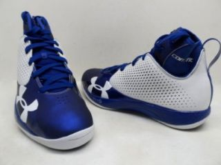 Under Armour Men's TB Micro G Juke Basketball Shoes White/Royal Size 13 New Shoes