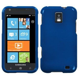 Asmyna SAMI937HPCSO003NP Premium Durable Protective Case for Samsung Focus S i937   1 Pack   Retail Packaging   Dark Blue Cell Phones & Accessories