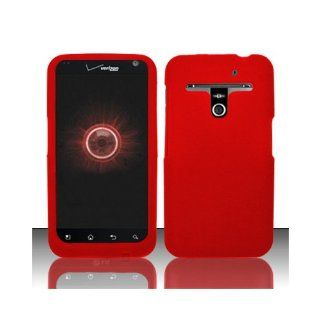 Red Soft Silicone Gel Skin Cover Case for LG Esteem MS910 Revolution VS910 Cell Phones & Accessories