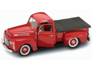 Yat Ming Scale 118   1948 Ford F 1 Pick Up Truck with Flatbed Cover Toys & Games