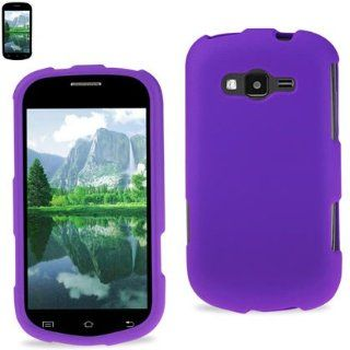 Reiko RPC10 SAMM950PP Premium Durable Rubberized Protective Cover for Samsung Galaxy Reverb (M950)  1 Pack   Retail Packaging   Purple Cell Phones & Accessories