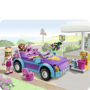 LEGO Friends Stephanies Cool Convertible (3183)      Toys