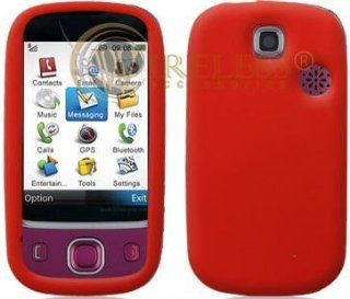 Diamond Silicone Skin Cover Case Transparent Hot Pink For LG Vu CU920 Cell Phones & Accessories