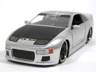 1990 Nissan 300ZX diecast model car 124 scale die cast by Jada Toys Option D   White 90619 Toys & Games