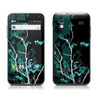 Aqua Tranquility Design Protective Skin Decal Sticker for Samsung Captivate Glide SGH i927 Cell Phone Cell Phones & Accessories