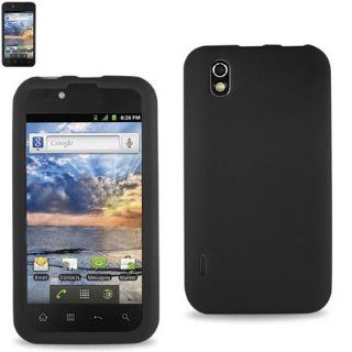 Premium Durable Silicone Protective Case LG Optimus Black(P970) (SLC10 LGP970BK) Cell Phones & Accessories