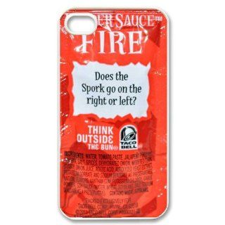 Super Hot Taco Sauce Iphone 4/4s Iphone Cases Cover Cell Phones & Accessories