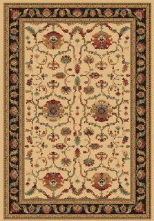 "Traditional Area Rug, Dynamic Rugs Radiance Collection 2'x3'11"" Ivory   Synthetic Rugs"