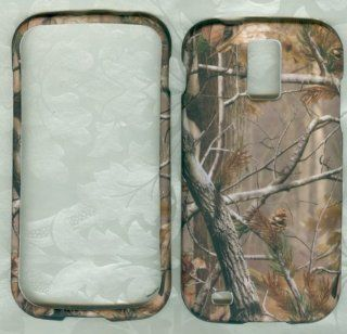 SAMSUNG GALAXY S2 T989 SGH T989 HERCULES (T MOBILE US CELLULAR) HARD RUBBERIZED CASE COVER FACEPLATE PROTECTOR SNAP ON NEW CAMO MOSSY OAK HUNTER REAL TREE Cell Phones & Accessories