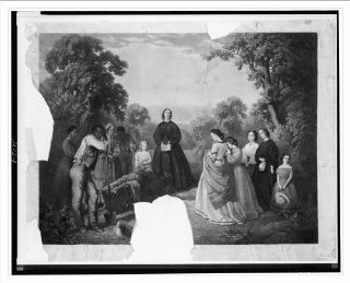 Historic Print (M) [Burial of Latane] / [] by W.D. Washington ; engraved by A.G. Campbell.