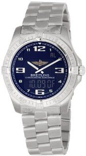 Breitling Aerospace Mens Analog Digital Watch E7936210 B962TI at  Men's Watch store.