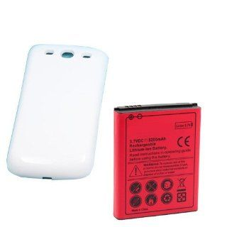 YESGOSHOP 5200mAh Battery for T Mobile Samsung GALAXY S3 SGH T999 NFC fubnction +Back cover Cell Phones & Accessories