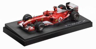 2003 Ferrari F 1 Formula One #1 Michael Schumacher 999 GP Points diecast model car 118 scale die cast by Hot Wheels Toys & Games