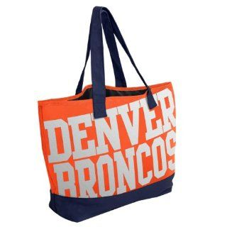 NFL Denver Broncos Metallic Print Tote Bag  Sports Fan Home Decor  Sports & Outdoors