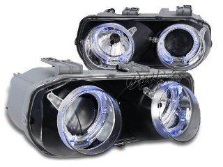Halo Projector Headlight Chrome 94 97 Acura Integra Automotive