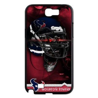 NFL Houston Texans Samsung Galaxy Note 2 N7100 Case Cover Houston Texans Galaxy Note 2 Cases SKULL Helmet Cell Phones & Accessories