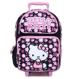 Hello Kitty in Pink Outfit Toddler Rolling Backpack Toys & Games