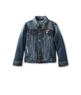 Hudson Kids Girls Denim Jacket Big Kids Blue Stone Napoli