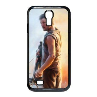 Custom Daryl Dixon Cover Case for Samsung Galaxy S4 I9500 S4 987 Cell Phones & Accessories