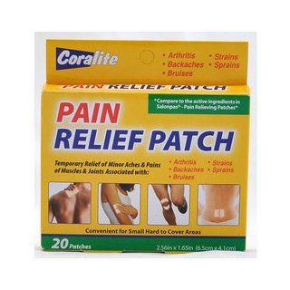 Coralite Pain Relief Patches (Salonpas) 20 Pack Health & Personal Care