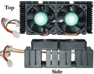 CPU Cooler for AMD K7 & Pentium II (Dual Fan) Computers & Accessories