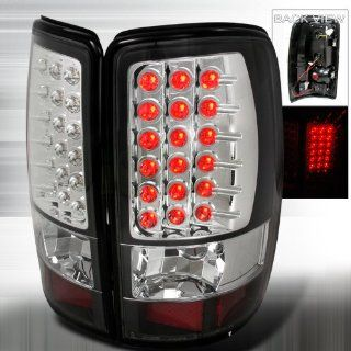 2000 2006 Chevy Tahoe, 2000 2006 GMC Denali Led Tail Lights Black Automotive