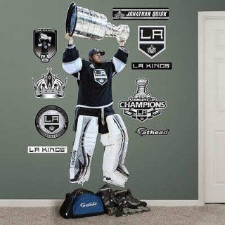(33x91) NHL Los Angeles Kings Jonathan Quick Stanley Cup Wall Decal Sticker   Prints